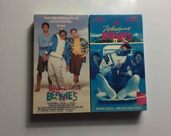 LOT OF 2 Weekend at Bernie's 1 & 2 (VHS, 1999)