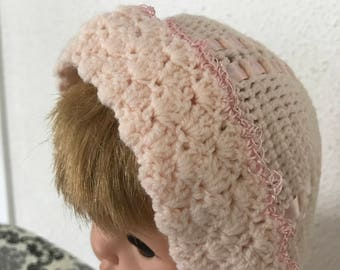 Baby Crocheted Hat  3-6 mos.