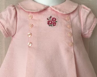 First Impressions Vintage Baby Dress, 6-9?mos.
