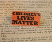 CHILDREN'S LIVES MATTER Jewelry Anti-Gun Violence lapel pins (2) One to wear, one to share.