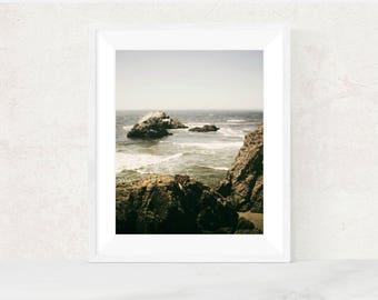 Digital download | A FINE DAY to EXIT | printable art | beach photography | landscape photo print | ocean art print | nature home decor
