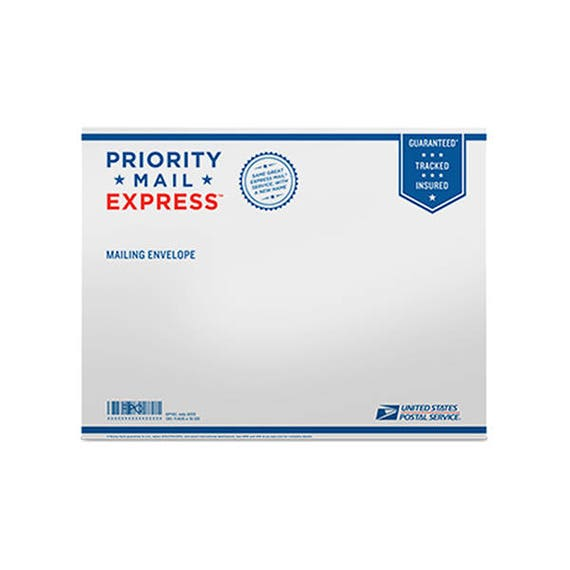 PRIORITY EXPRESS SHIPPING Upgrade for United States Only