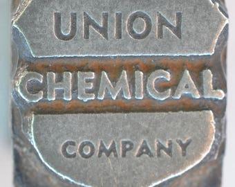 Union Chemical Print Block