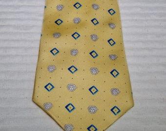 Vintage Versace Silk Medusa Head Tie