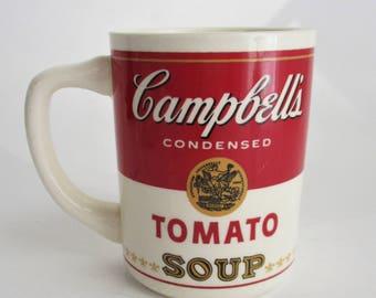 Vintage Campbell's Mug Tomato Soup Mug Made in USA