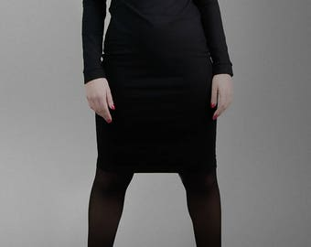 Arkania CRZ Chocker midi Dress