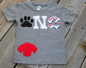 Puppy Party First Birthday Shirt, Dog Party Shirt, Party Animal Shirt, First Birthday Shirt