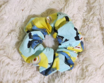 Scrunchies, BuuuNANAAAAA Scrunchie, Scrunchie, Hair Tie, Pony Tail Holder, 80's Hair Scrunchies, Hair Scrunchie, Hair Accesories