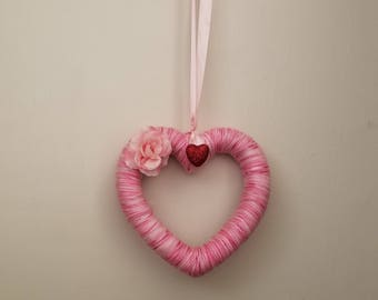 Heart Shaped Valentine's Day Wreath
