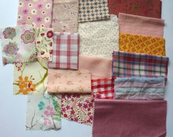 set of fabrics for patchwork 253 coupons