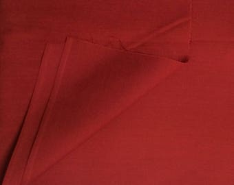 Cotton Fabric / Red Cotton Fabric / Deep Red Fabric / Quilting Fabric /Red Quilting Fabric / Cotton Quilting Fabric /  Red Fabric