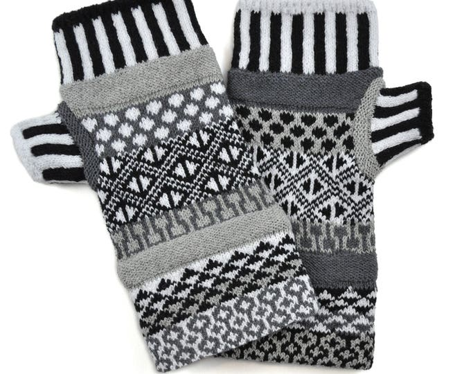 Solmate Accessories - Midnight Fingerless Mittens Limited - Available to order through midnight November 27th!