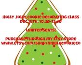 Dec. 16th Cookie Decorating Class