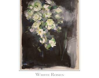 White Roses Dancing