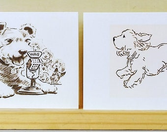 Boxed Note Cards with Sassy Dogs
