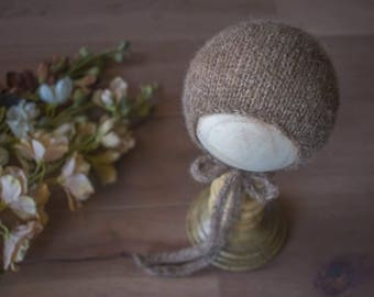 Alpaca Silk Bonnet - made to order