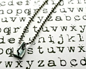 Upcycled Monopoly Game Token Necklace-Retired-Iron-Unisex Jewelry-Geeks-by OldTimeVintageFinds
