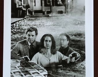 Movie Still, Second Sight with John Larroquette, Bronson Pinchot and Stuart Pankin.