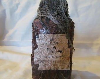 Halloween Potion Bottle/ Jar, Petrified Butterflies