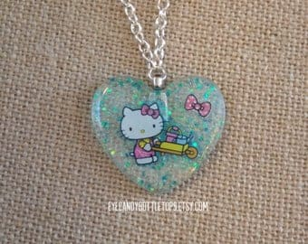 Kitty Resin Charm Necklace