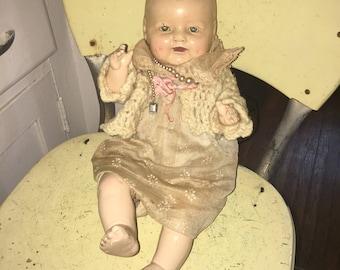 E.I. Horsman Doll 1940s