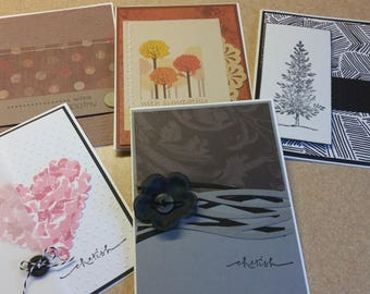 Set of sympathy  cards