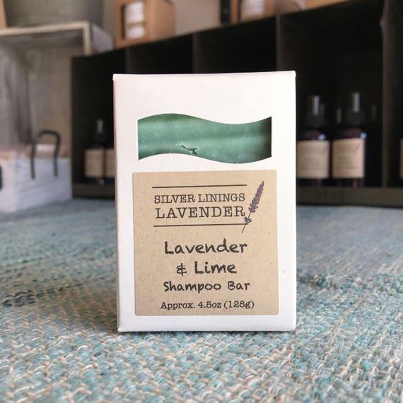 Lavender & Lime Shampoo Bar / Shampoo Bar / Natural Shampoo