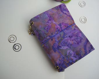 Butterfly Batik Notebook Cover