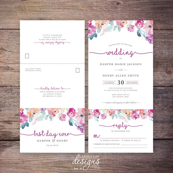 Seal And Send Wedding Invitations for beautiful invitation layout