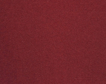 Maharam Upholstery Fabric Kvadrat Divina Wool 584 3.875 yards Deep Red 460730–584 (AE)