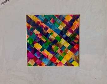 WOVEN ALCOHOL INK 4