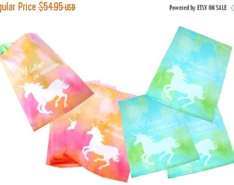 "On Sale 400 Pastel Pink and Blue Unicorn 10"" x 13"" Flat Poly Mailers, Animal Lovers Self Sealing Flat Envelope Mailers, Colored Shipping Mai"
