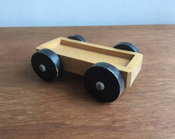 Vintage Wooden Toy Vehicle, Wooden Toy, Toy Car