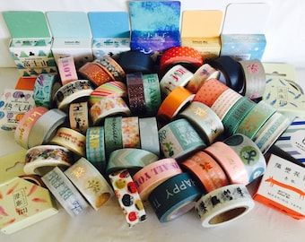 End of the Year Sale! WASHI TAPE Grab Bags