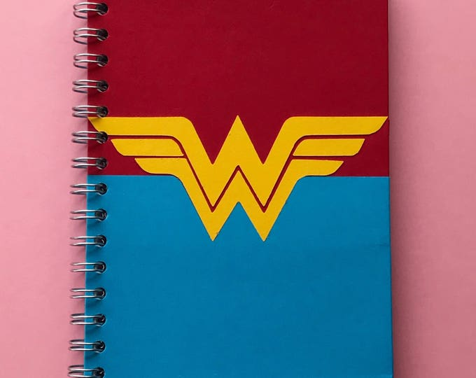 Featured listing image: C L E A R A N C E | Wonder Woman Notebook