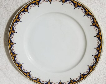 Small Plate(7 7/8 inches), Czechoslovakia Porcelain Union T