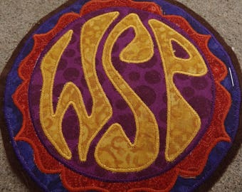Small Widespread Panic Patchwork Applique Patch