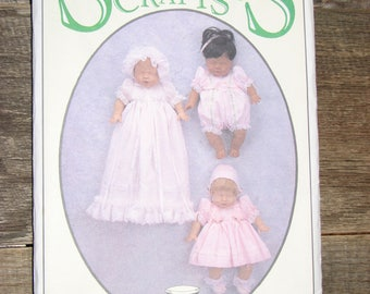 "Syndee's Crafts 12"" Baby Doll Sewing Pattern 24020"