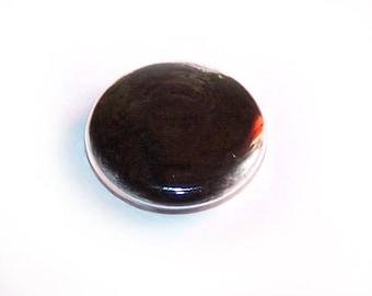 Globe round 30 mm black CARDEE wool filled glass