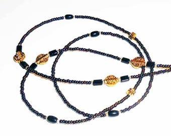 Beaded Eyeglass Chain SALE, Eyeglass Chain, Eyeglass Lanyard, Celtic Inspired Eyeglass Chain, Eyeglass Holders, EC16139a