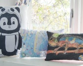 Personalized Childrens Art Pillow