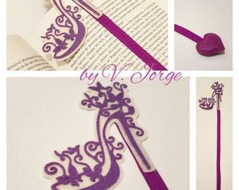 Handmade Felt bookmark, Felt Bookmark, Shoe bookmark
