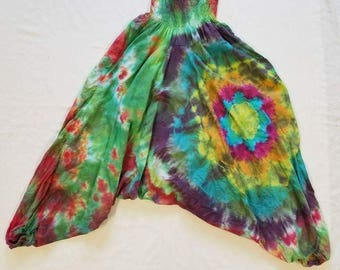 Funky Tie Dye Harem Pants One size fits all
