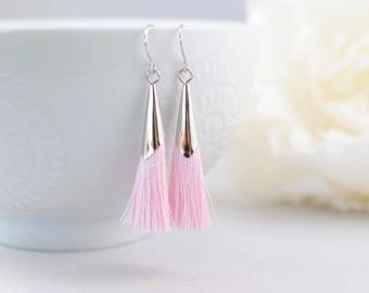 The Delia Earrings - Pink