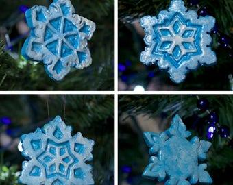 Snowflake Christmas Tree Ornament Set