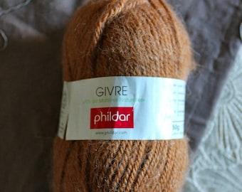 1 skein of Brown yarn from phildar