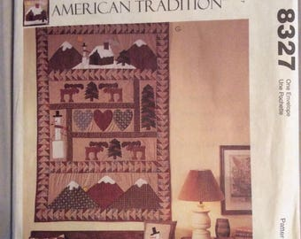 McCalls 8327 American Tradition Quilt Patterns