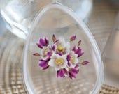 Floral Printed Silicone Makeup Applicator - Anti Sponge