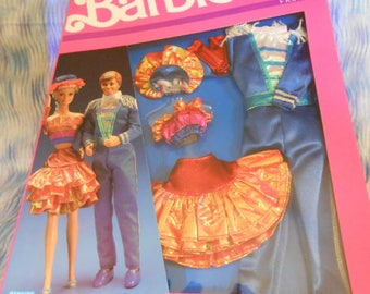 RESERVED 1989 Mattel Barbie and Ken Complete Outfits-Sealed