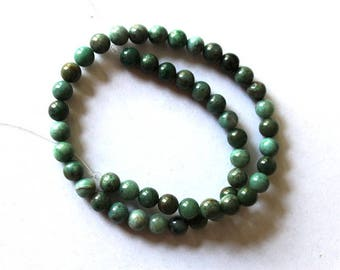 8 mm Australian Dragon Blood Jade